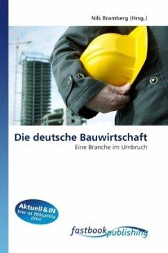 Die deutsche Bauwirtschaft