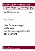 Das Besteuerungsverfahren der Personengesellschaft bei Insolvenz