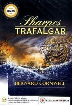 Sharpes Trafalgar / Richard Sharpe Bd.4 (1 MP3-CD) - Cornwell, Bernard