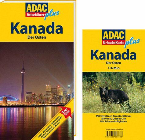 ADAC Reiseführer plus Kanada, Der Osten - Srenk, Andreas