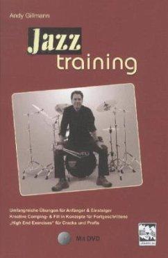 Jazztraining, Schlagzeug, m. DVD
