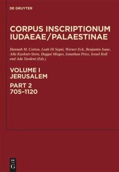 Corpus Inscriptionum Iudaeae/Palaestinae Volume 1/2