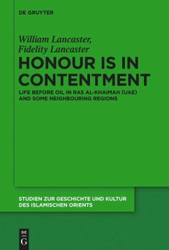 Honour Is in Contentment - Lancaster, William O.; Lancaster, Fidelity C.