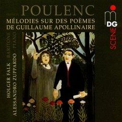 Melodies Sur Des Poèmes De Guillaume Apollinaire - Falk,Holger/Zuppardo,Alessandro