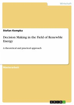 Decision Making in the Field of Renewble Energy - Kempka, Stefan