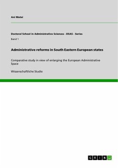Administrative reforms in South Eastern European states - Matei, Ani
