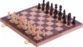 Goki 56922 - Schachspiel in Holzklappkassette
