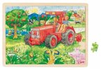 Rahmenpuzzle Traktor
