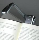 Clip-On Booklight - LED Leselampe - Silber