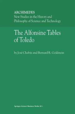 The Alfonsine Tables of Toledo - Chabás, José; Goldstein, Bernard R.