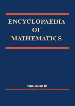 Encyclopaedia of Mathematics, Supplement III - Herausgegeben von Hazewinkel, Michiel