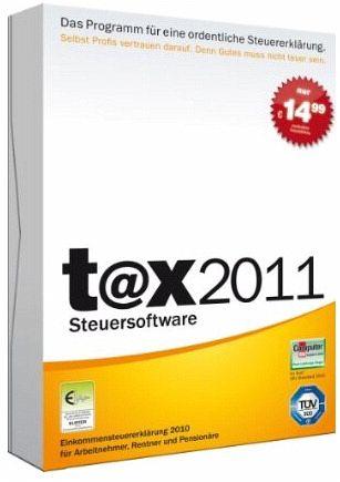 t@x 2011 Steuersoftware, Standard
