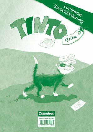 TINTO 1 und 2 - Grüne Ausgabe. 1. Schuljahr. Lernkartei Sprachförderung - Urbanek, Rüdiger