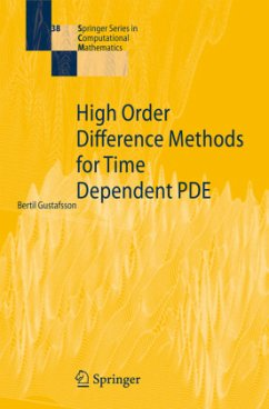 9783642094392 - Gustafsson, Bertil: High Order Difference Methods for Time Dependent PDE - Livro