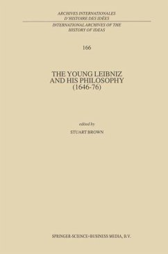 The Young Leibniz and his Philosophy (1646-76)