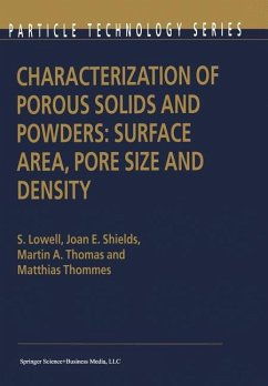 Characterization of Porous Solids and Powders: ...