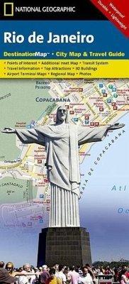 National Geographic DestinationMap Rio de Janeiro - National Geographic Maps