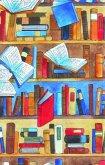 Buchhandlungsbedarf, Geschenkpapier Librairie, w. engg. N, 25 Bogen (50 x 70 cm)