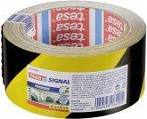 Tesa Signal Markierungs- und Warnklebeband gelb/schwarz