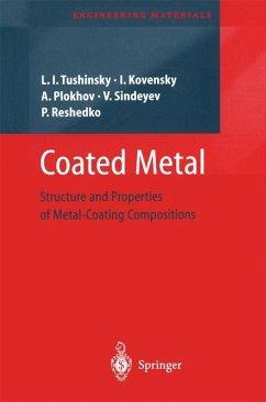 Coated Metal - Tushinsky, Leonid;Kovensky, Iliya;Plokhov, Alexandr