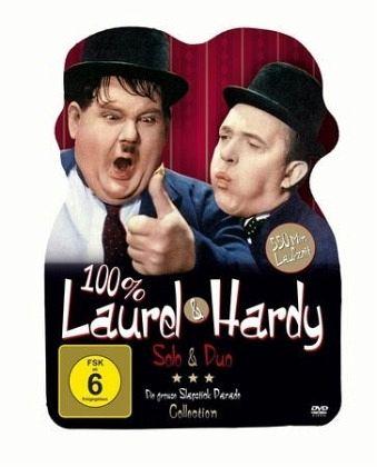100 laurel hardy solo duo 2 discs film auf dvd. Black Bedroom Furniture Sets. Home Design Ideas