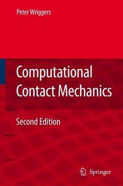 Computational Contact Mechanics - Wriggers, Peter