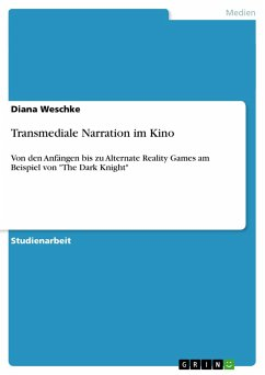Transmediale Narration im Kino - Weschke, Diana