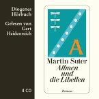 Allmen und die Libellen / Johann Friedrich Allmen Bd.1, 4 Audio-CDs