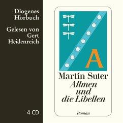 Allmen und die Libellen / Johann Friedrich Allmen Bd.1, 4 Audio-CDs - Suter, Martin