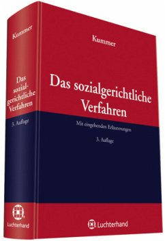 Das sozialgerichtliche Verfahren - Kummer, Peter