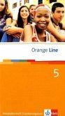 Orange Line. Vokabellernheft Teil 5 (5. Lernjahr) Erweiterungskurs