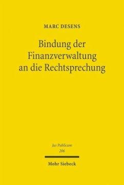 Bindung der Finanzverwaltung an die Rechtsprechung