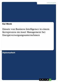 Einsatz von Business Intelligence in einem Kernprozess im Asset Management bei Energieversorgungsunternehmen