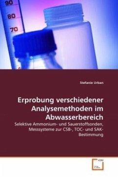 Erprobung verschiedener Analysemethoden im Abwasserbereich