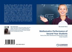 Mathematics Performance of Second Year Students