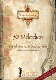 50 Melodien für die mittelalterliche Sackpfeife