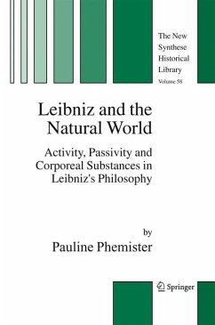 Leibniz and the Natural World - Phemister, Pauline