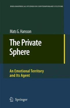 The Private Sphere - Hansson, Mats G.