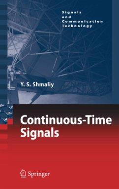 Continuous-Time Signals - Shmaliy, Yuriy