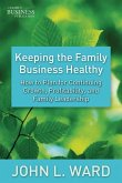 Keeping the Family Business Healthy