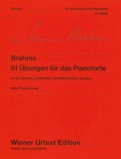 51 Übungen für das Pianoforte WoO 6, Klavier - 51 Übungen für das Pianoforte WoO 6, Klavier