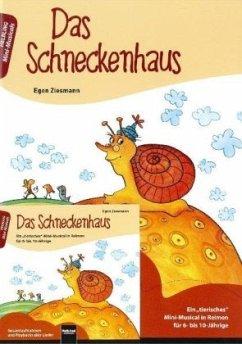 Das Schneckenhaus. Buch und AudioCD - Ziesmann, Egon
