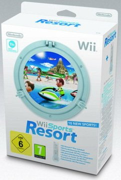 Wii Sports Resort + Remote Plus White (inkl. Fernbedienung mit Motion Plus Sensor)