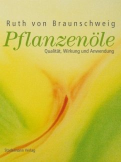 Pflanzenöle - Braunschweig, Ruth von