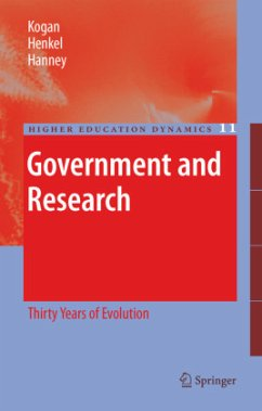 Government and Research - Kogan, Maurice; Henkel, Mary; Hanney, Steve