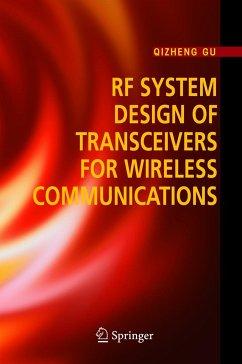 RF System Design of Transceivers for Wireless Communications - Gu, Qizheng