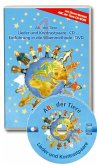 Lieder und Kontrastpaare, Audio-CD + Der Film, DVD / ABC der Tiere