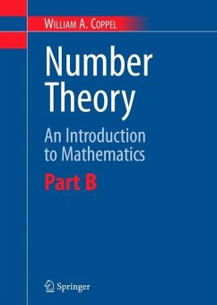 Number Theory - Coppel, W. A.