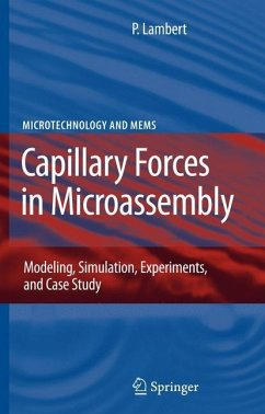 Capillary Forces in Microassembly - Lambert, Pierre