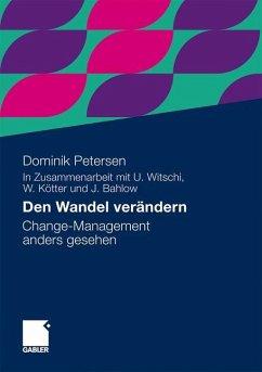 Den Wandel verändern - Petersen, Dominik